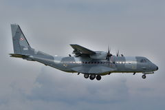 Польский самолет военновоздушной силы Стоковое Изображение RF