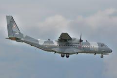 Польский самолет военновоздушной силы Стоковое Изображение