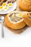 Польский суп пасхи Стоковое Изображение