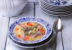 Польский суп Zurek Стоковое фото RF
