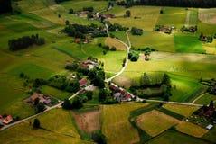 польское село Стоковое фото RF
