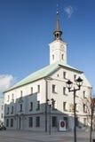 Польша, верхняя Силезия, Гливице, ратуша Стоковое Изображение RF