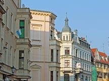 Польша - городок Торуна старый Стоковое Фото