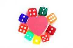 Полюбите азартную игру Стоковая Фотография