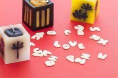 Алфавит влюбленности Стоковая Фотография
