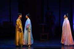 Полюбите в дворц-крушение иллюзий-современных императрицах драмы в дворце Стоковая Фотография