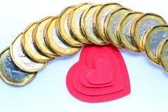Полюбите деньги Стоковые Фотографии RF