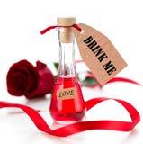 Питье влюбленности Стоковые Изображения