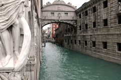 Полюбите путь в Венеции Стоковые Фото
