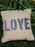 Полюбите сувенир сумки мешка для того чтобы украсить или уступать свадьба, день валентинки, для любовника стоковая фотография rf