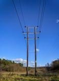 Телеграф Poles Стоковая Фотография RF
