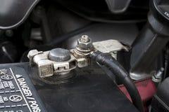 Полюс батареи автомобиля Стоковое Изображение RF