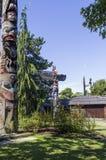 Полюс Totem Стоковое фото RF
