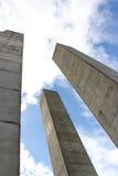 Поляки бетона армированного Стоковая Фотография RF