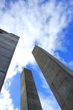 Поляки бетона армированного Стоковое Изображение