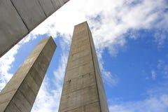 Поляки бетона армированного Стоковые Изображения RF