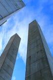 Поляки бетона армированного Стоковое Изображение RF