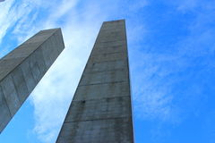 Поляки бетона армированного Стоковые Фото