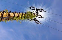 Поляки электричества стоковые изображения