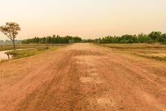 Поляк грязной улицы стоковая фотография rf