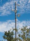 Поляк освещения парка Стоковое фото RF