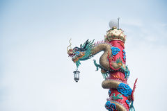 Поляк дракона Chiness стоковые фото