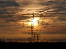 Поляк электричества Стоковые Изображения