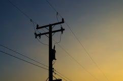Поляк электричества стоковое изображение rf