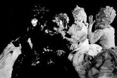 полярности Фестиваль 2015 Crangasi статуй Bucuresti живущий, театр Masca Стоковое Фото