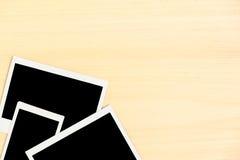 3 поляроидных рамки фото Стоковое Фото