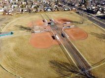 Поля бейсбола Стоковая Фотография RF