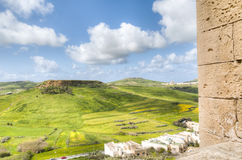 Поля Мальты стоковая фотография rf