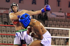 Пол Versayo - kickboxing Стоковые Фотографии RF