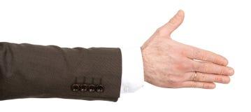 Правая рука Businessmans Стоковое Фото