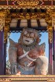 Правая святыня перед Kori Agung виска Batuan, Ubud, Бали Индонезии стоковое изображение rf