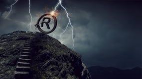 Права владением и автором Мультимедиа Стоковая Фотография RF