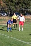 правила футбольного матча пролома стоковая фотография