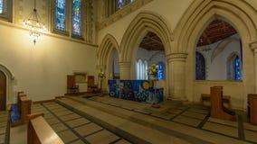 Правильная позиция высокого алтара церков St Mary стоковое фото