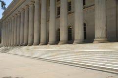 правительство 8 зданий суда Стоковая Фотография