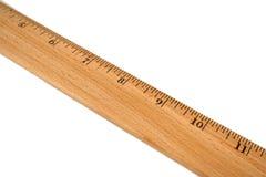 правитель деревянный Стоковые Изображения RF