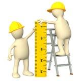 правитель марионеток строителей 3d бесплатная иллюстрация