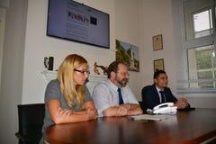 Правительство Гибралтара запускает экологическое сознание kidzone Стоковые Фото