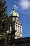 Правительство Здани-Виктория, ДО РОЖДЕСТВА ХРИСТОВА стоковые изображения rf