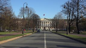 Правительство Санкт-Петербурга Smolny 4K акции видеоматериалы