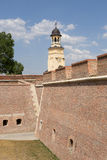 Правоверная башня собора воссоединения, Alba Iulia стоковая фотография