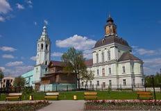 Правоверная церковь Николаса-Zaretsky (1734), Тула, Россия Стоковые Изображения RF