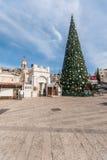 Правоверное рождество в Назарете Стоковое Фото