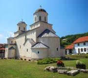Правоверный монастырь Mileseva стоковое фото rf