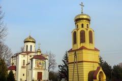 Правоверный приход St Кирилла и Methodius в Biala Podlaska стоковые фото