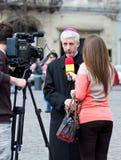 правоверный священник Стоковое Фото